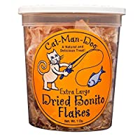 Cat-Man-Doo Extra Large Bonito Flakes, 1-Ounce Container from Cat-Man-Doo