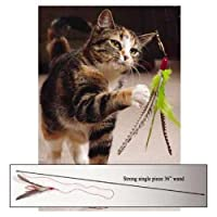 Da Bird: The Original Interactive Feather Cat Toy by Go Cat Feather Toys