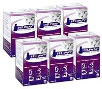 Feliway 48-Milliliter Plug-In Refills, 6 Refills by Feliway
