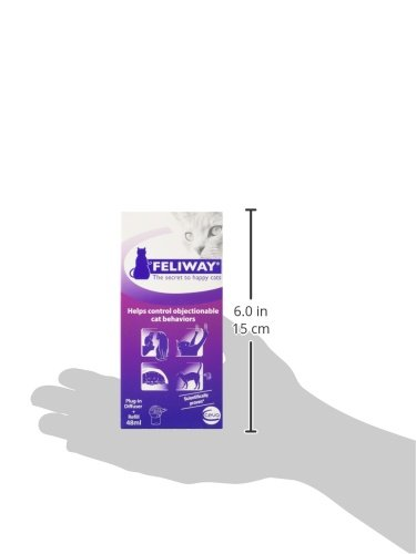 Feliway Plug In Diffuser With Refill 48 Milliliters By