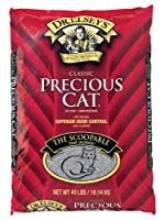 Precious Cat Classic Premium Clumping Cat Litter, 40 pound bag from Precious Cat