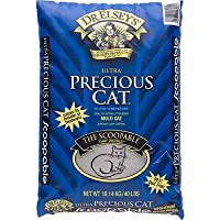 Precious Cat Ultra Premium Clumping Cat Litter, 18 pound bag by Precious Cat