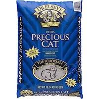 Precious Cat Ultra Premium Clumping Cat Litter, 18 pound bag by Precious Cat
