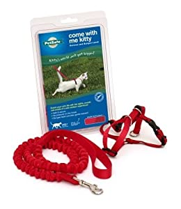 Premier Pet Come with me Kitty Harness Small Red from Radio Systems